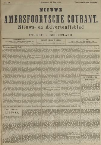 Nieuwe Amersfoortsche Courant 1895-06-26
