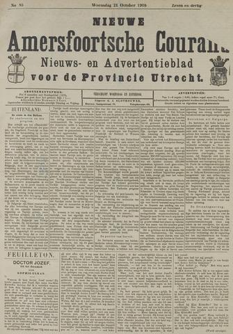 Nieuwe Amersfoortsche Courant 1908-10-21