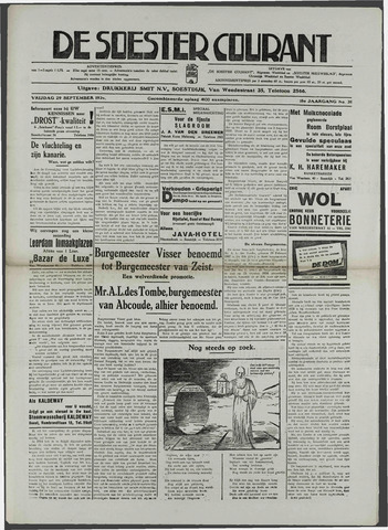 Soester Courant 1939-09-28