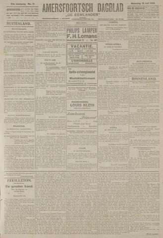 Amersfoortsch Dagblad / De Eemlander 1925-07-13