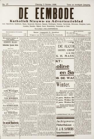 De Eembode 1908-10-03