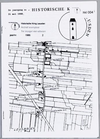Historische Kring Leusden 1986-05-31