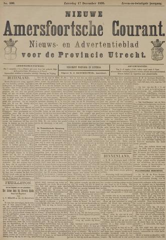 Nieuwe Amersfoortsche Courant 1898-12-17