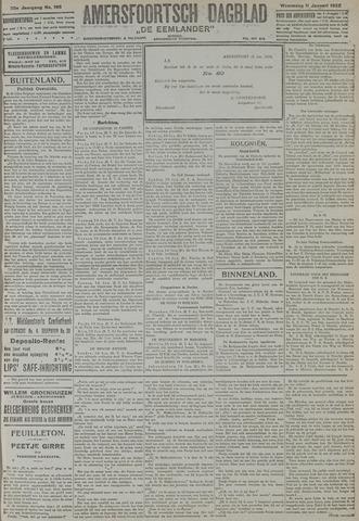 Amersfoortsch Dagblad / De Eemlander 1922-01-11