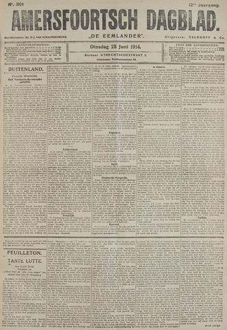 Amersfoortsch Dagblad / De Eemlander 1914-06-23