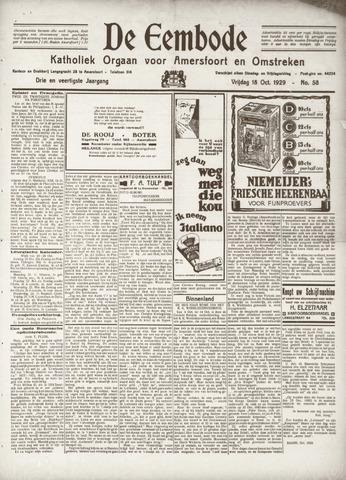 De Eembode 1929-10-18