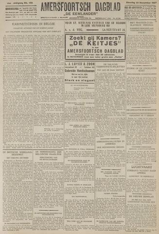 Amersfoortsch Dagblad / De Eemlander 1927-11-22