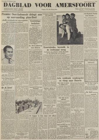 Dagblad voor Amersfoort 1949-02-23