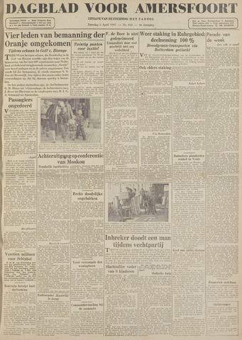 Dagblad voor Amersfoort 1947-04-05