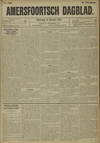 Amersfoortsch Dagblad 1910-10-24