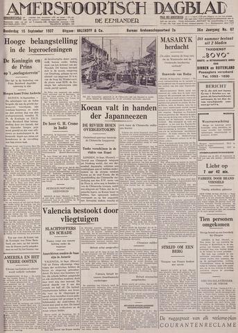 Amersfoortsch Dagblad / De Eemlander 1937-09-16