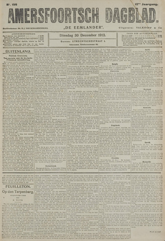 Amersfoortsch Dagblad / De Eemlander 1913-12-30