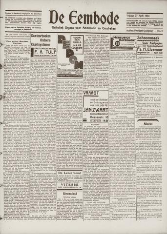 De Eembode 1934-04-27
