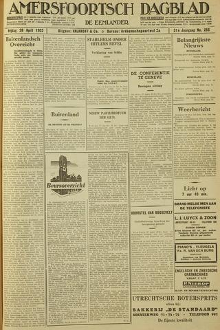 Amersfoortsch Dagblad / De Eemlander 1933-04-28