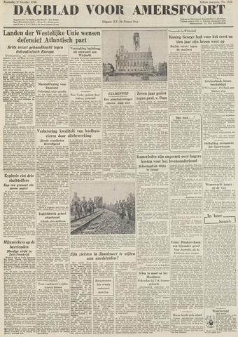 Dagblad voor Amersfoort 1948-10-27