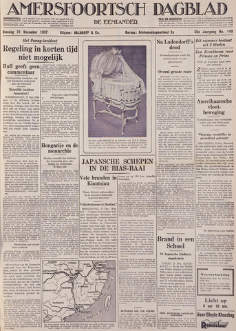Amersfoortsch Dagblad / De Eemlander 1937-12-21