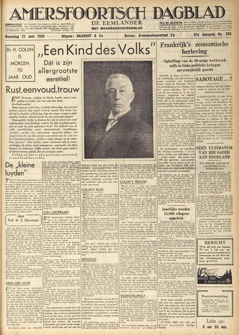 Amersfoortsch Dagblad / De Eemlander 1939-06-21
