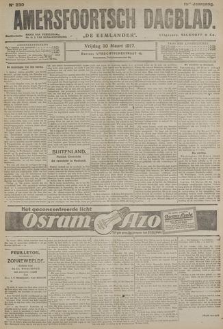 Amersfoortsch Dagblad / De Eemlander 1917-03-30