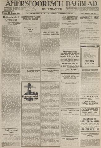 Amersfoortsch Dagblad / De Eemlander 1931-10-30
