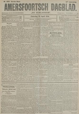Amersfoortsch Dagblad / De Eemlander 1914-04-25