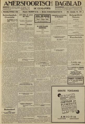 Amersfoortsch Dagblad / De Eemlander 1932-03-30