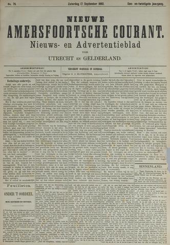 Nieuwe Amersfoortsche Courant 1892-09-17