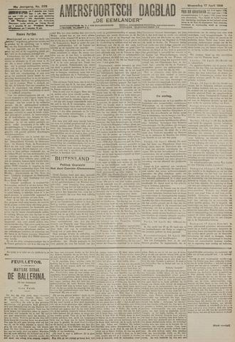 Amersfoortsch Dagblad / De Eemlander 1918-04-17