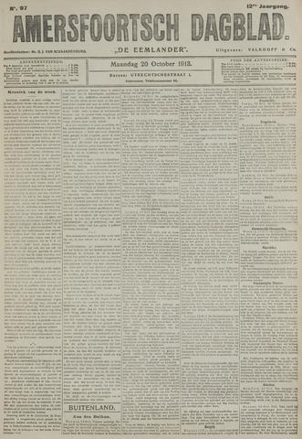 Amersfoortsch Dagblad / De Eemlander 1913-10-20