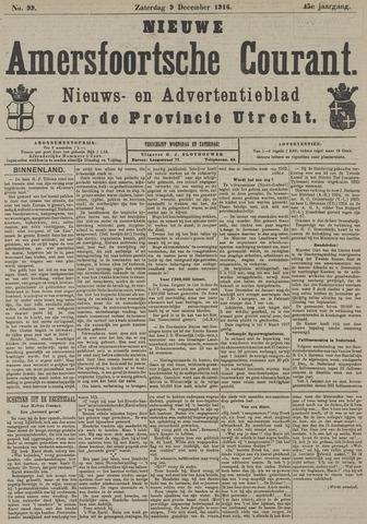 Nieuwe Amersfoortsche Courant 1916-12-09