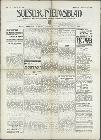 Soester Courant 1934-10-05