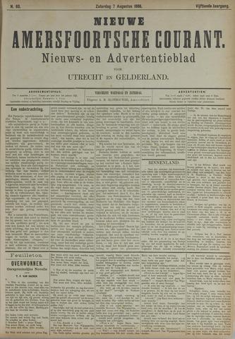 Nieuwe Amersfoortsche Courant 1886-08-07
