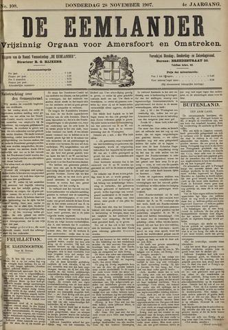 De Eemlander 1907-11-28