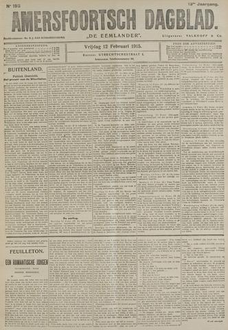 Amersfoortsch Dagblad / De Eemlander 1915-02-12