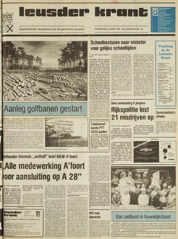 Leusder Krant 1985-04-18