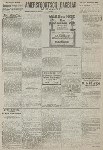 Amersfoortsch Dagblad / De Eemlander 1922-10-30