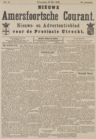 Nieuwe Amersfoortsche Courant 1918-05-22