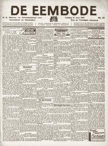 De Eembode 1927-06-17