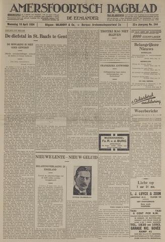 Amersfoortsch Dagblad / De Eemlander 1934-04-18