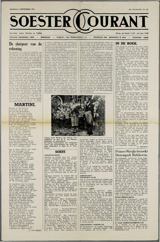 Soester Courant 1952-09-09