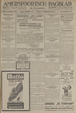 Amersfoortsch Dagblad / De Eemlander 1933-12-22