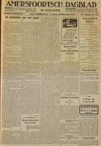 Amersfoortsch Dagblad / De Eemlander 1932-08-31