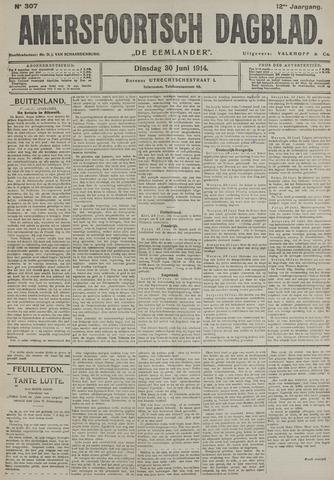 Amersfoortsch Dagblad / De Eemlander 1914-06-30