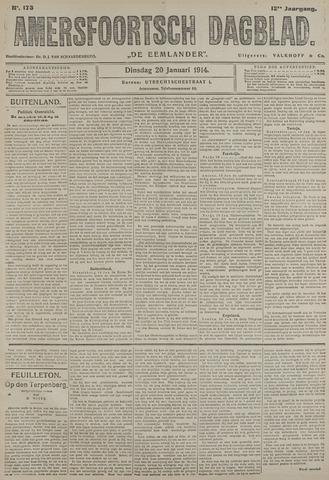 Amersfoortsch Dagblad / De Eemlander 1914-01-20