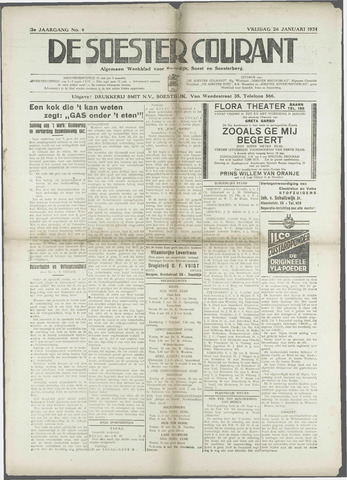 Soester Courant 1934-01-26