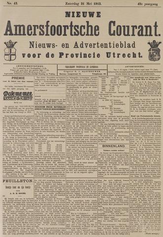 Nieuwe Amersfoortsche Courant 1913-05-31