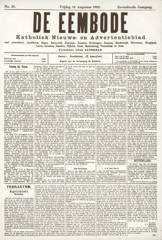 De Eembode 1903-08-14