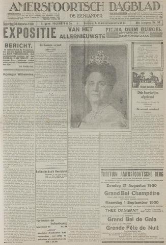 Amersfoortsch Dagblad / De Eemlander 1930-08-30