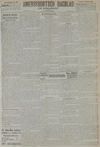 Amersfoortsch Dagblad / De Eemlander 1921-03-12