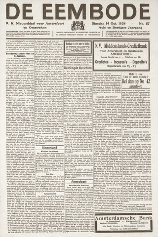 De Eembode 1924-10-14