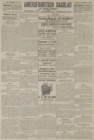 Amersfoortsch Dagblad / De Eemlander 1925-08-21
